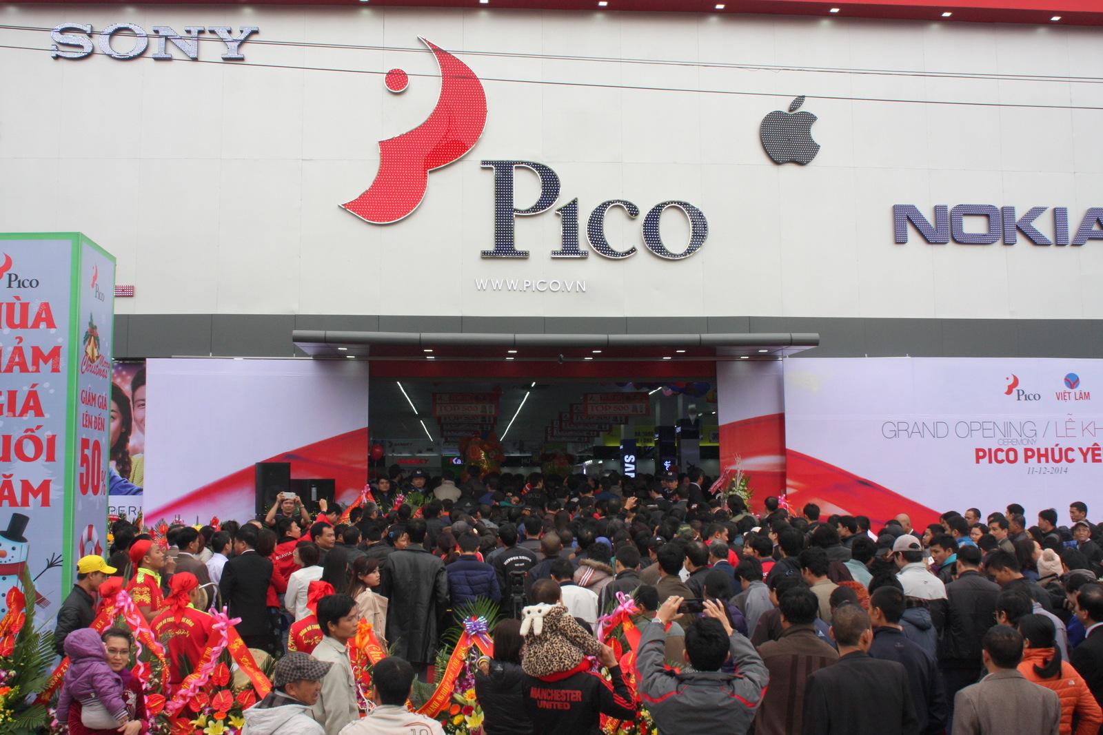 Pico tại chi nhánh Phúc Yên