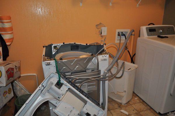 Chiếc máy giặt Samsung của một người dùng tại Demorest, Georgia phát nổ sau 15 tháng