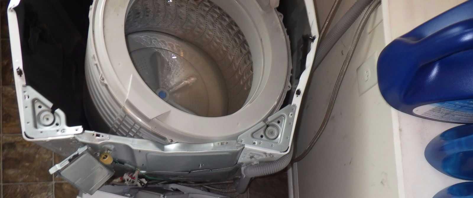 Hết điện thoại lại đến máy giặt Samsung phát nổ