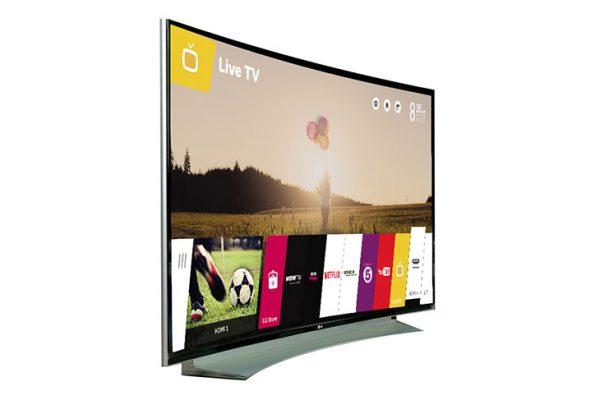 Tivi màn hình cong thương hiệu TCL