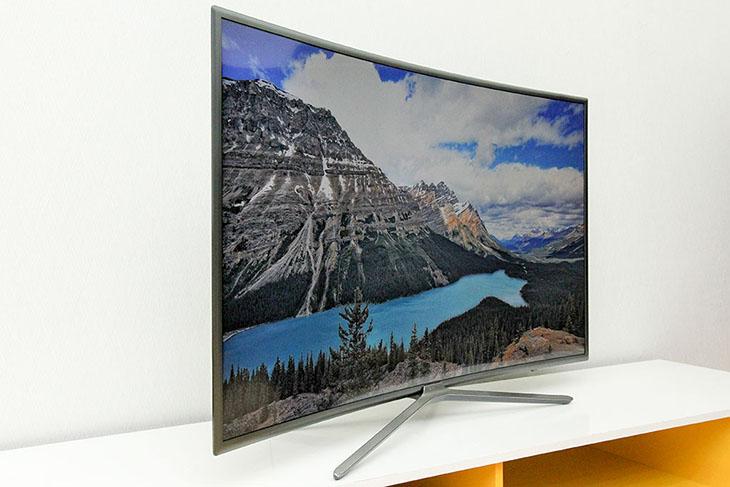 Tivi màn hình cong thương hiệu Samsung