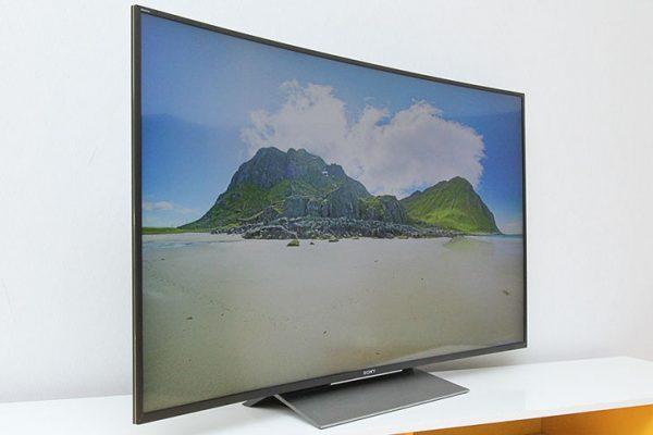 Tivi màn hình cong thương hiệu Sony