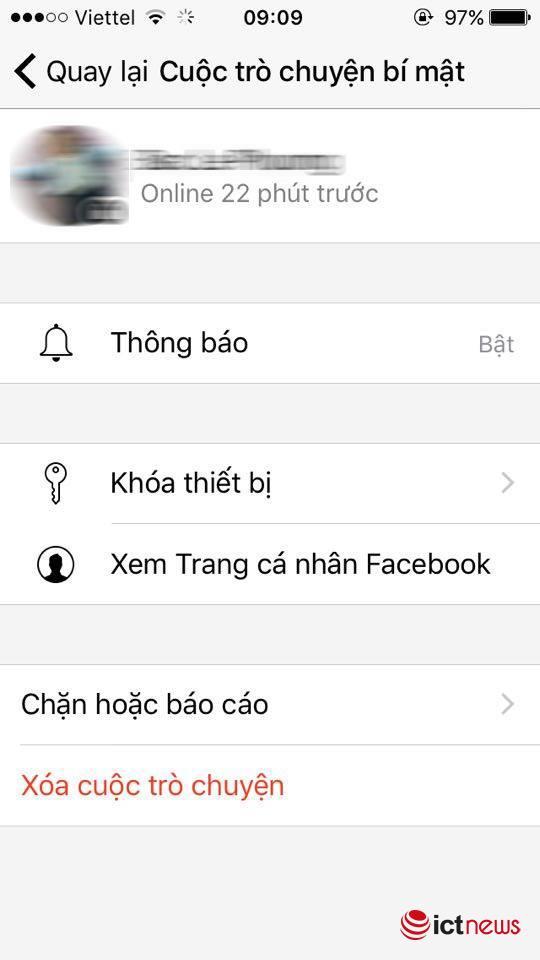 Hướng dẫn nhắn tin bí mật trên Facebook Messenger