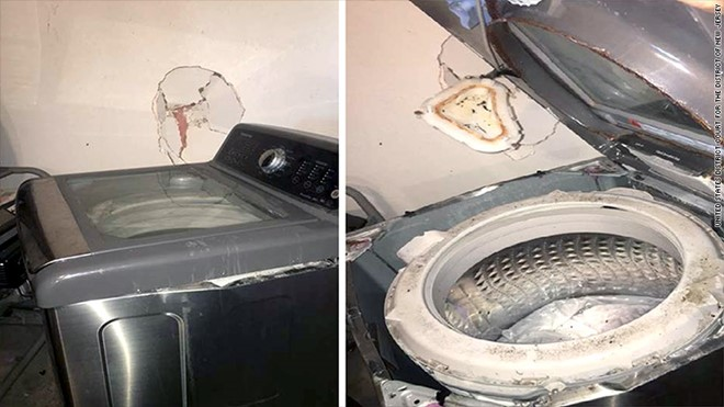 Máy giặt có nguy cơ phát nổ Samsung thu hồi gần 3 triệu máy