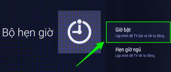 Cách hẹn giờ bật, tắt tivi cho Android tivi Sony 2016