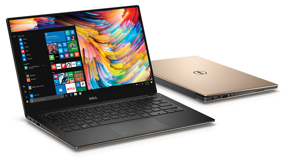 Laptop-dell-xps-13-rose-gold