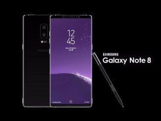 Màn hình Galaxy Note 8