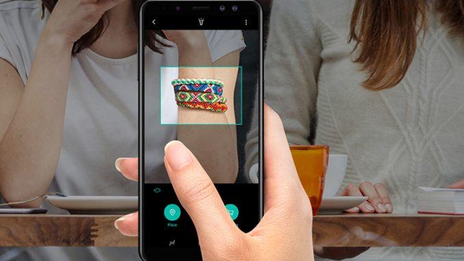 Điện thoại di động Samsung A530 màu đen Galaxy A8 2018